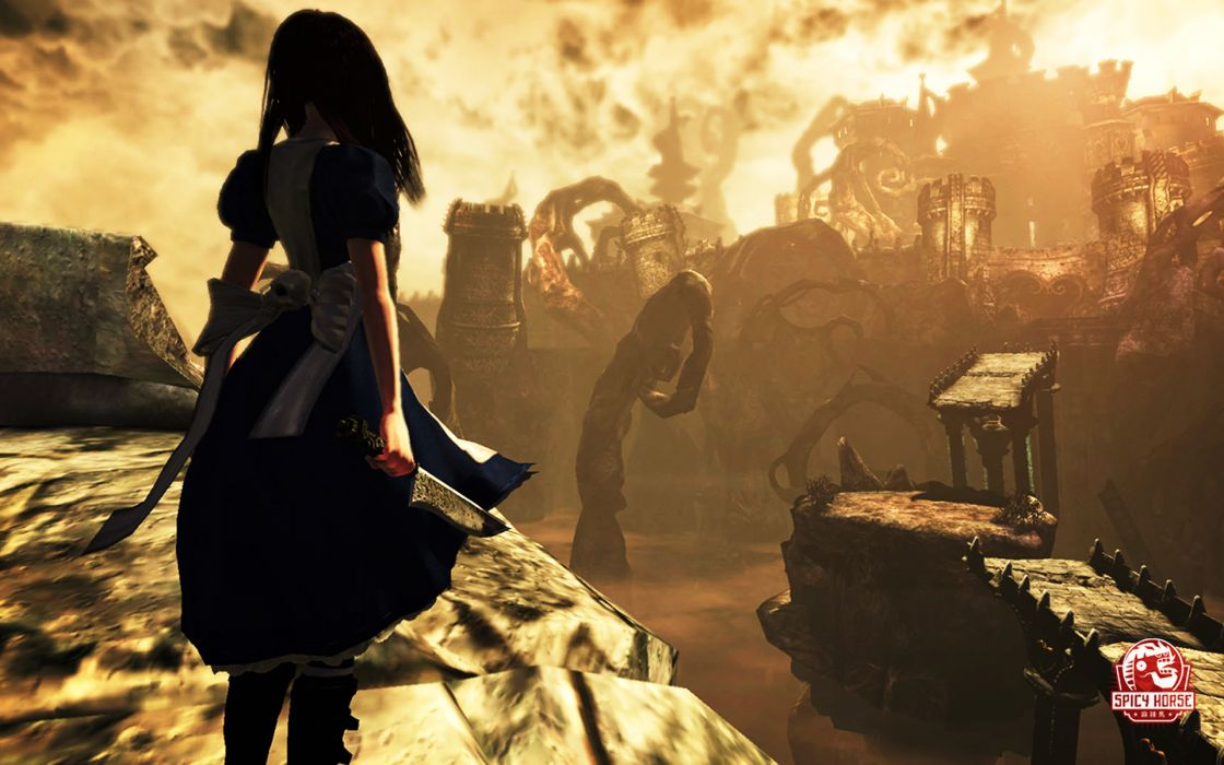 Alice in wonderland alice alice madness returns wallpaper