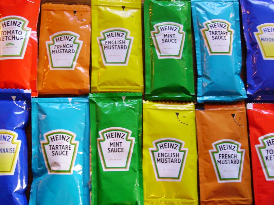 Multicolor ketchup food sauce wallpaper