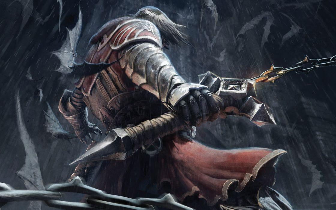 Castlevania digital art castlevania lords of shadow 3d wallpaper
