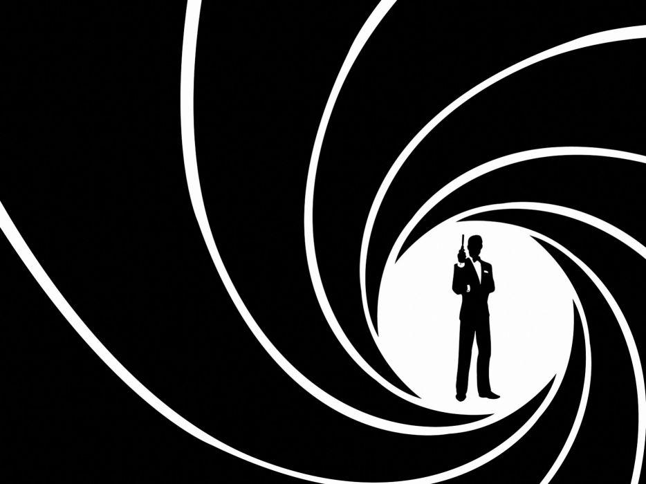 Minimalistic james bond 007 agent 007 wallpaper