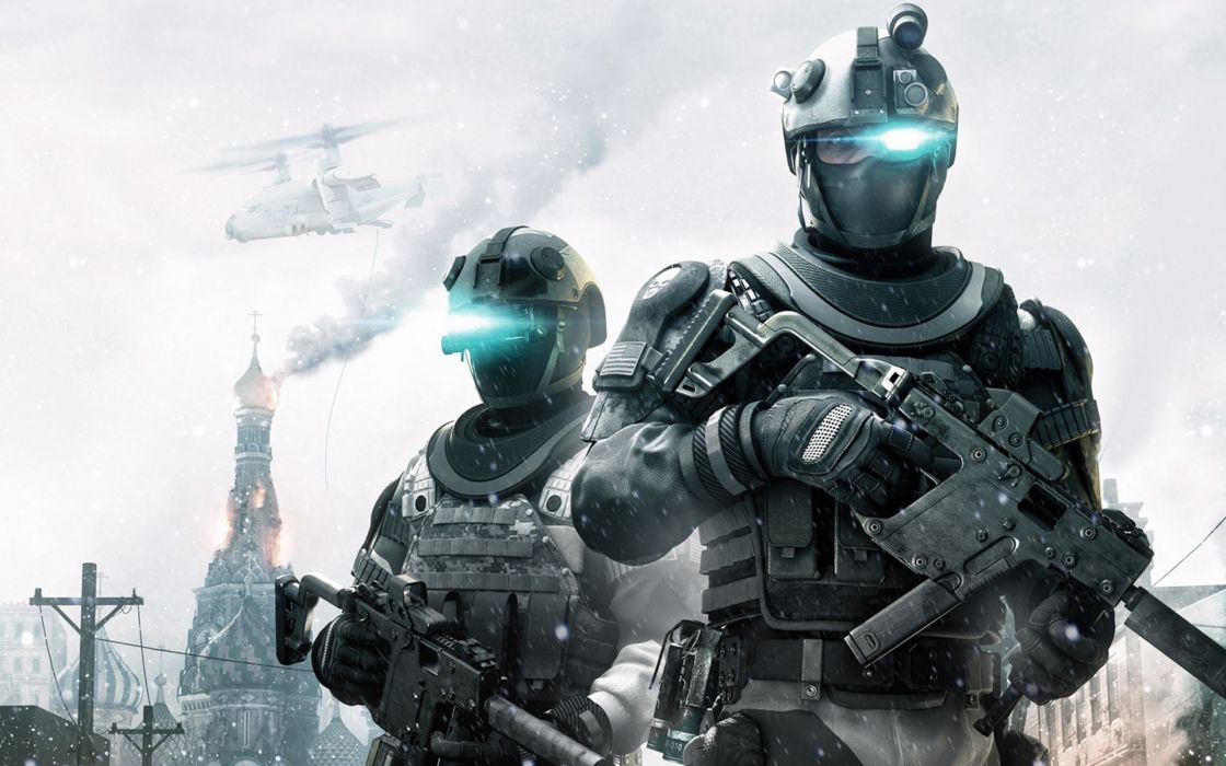 Soldiers video games guns ghost recon tom clancy wallpaper