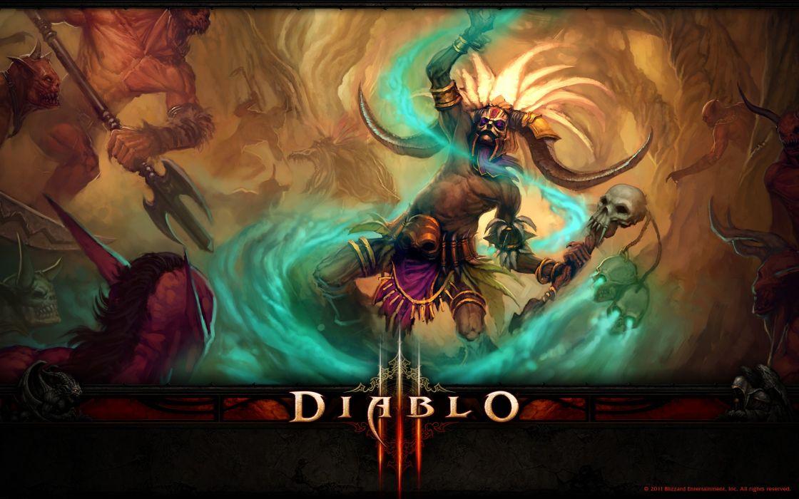 Blizzard entertainment diablo iii wallpaper
