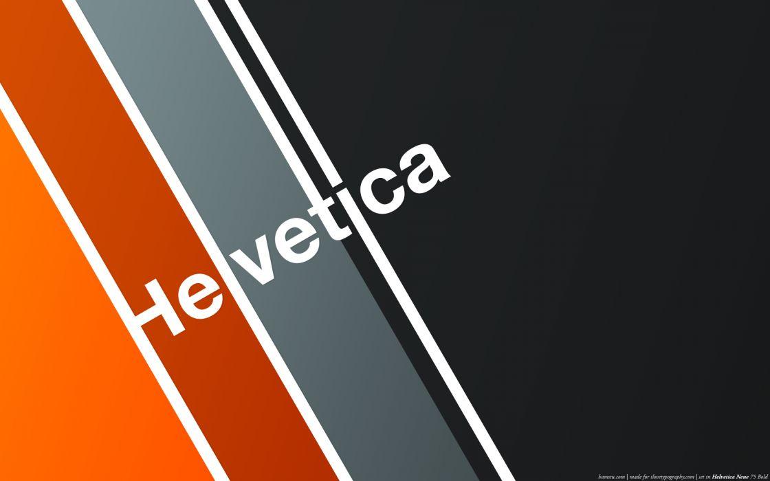 Typography helvetica wallpaper