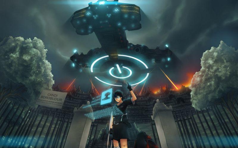 Starcraft battlecruiser artwork wallpaper