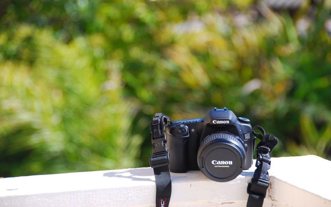Canon Photo Camera Wallpaper