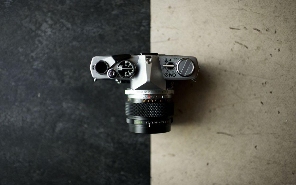 Objects photo camera wallpaper