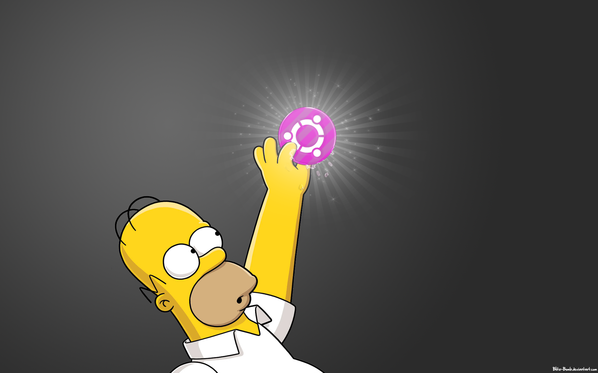 Homer Simpson Cool HD Mac Apple Wallpapers From Simpsons1