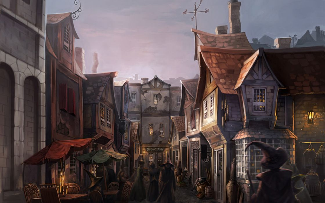 Market Harry Potter Fantasy Art Digital Art Artwork Witches