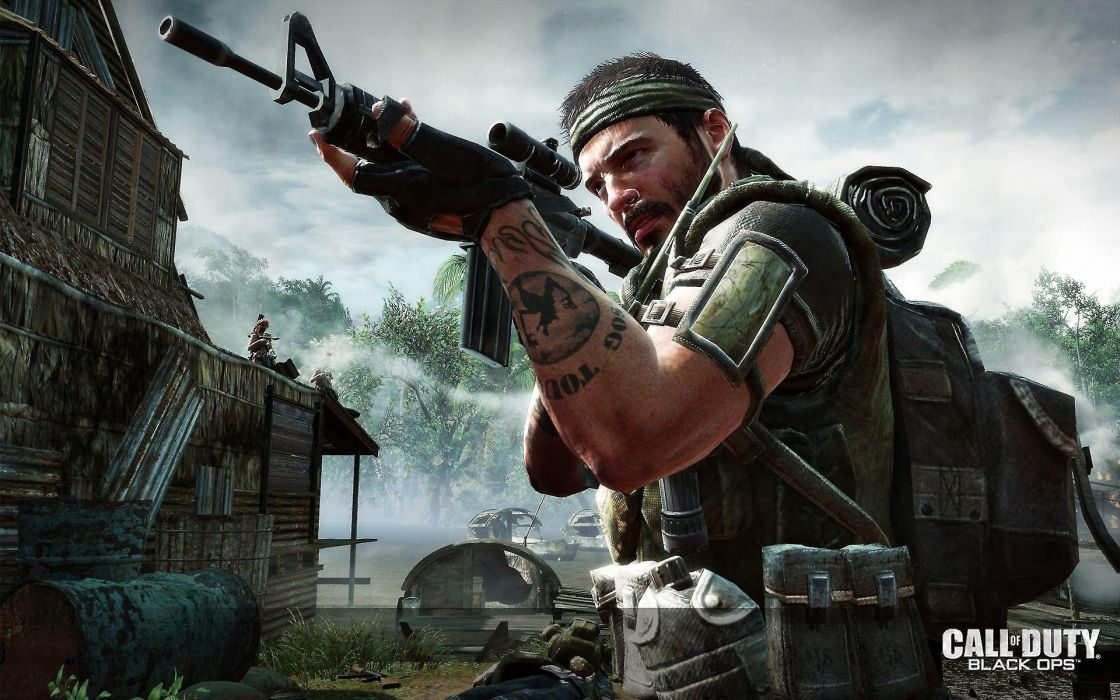 Soldiers Video Games Call Of Duty Xbox Playstation 3 Wallpaper