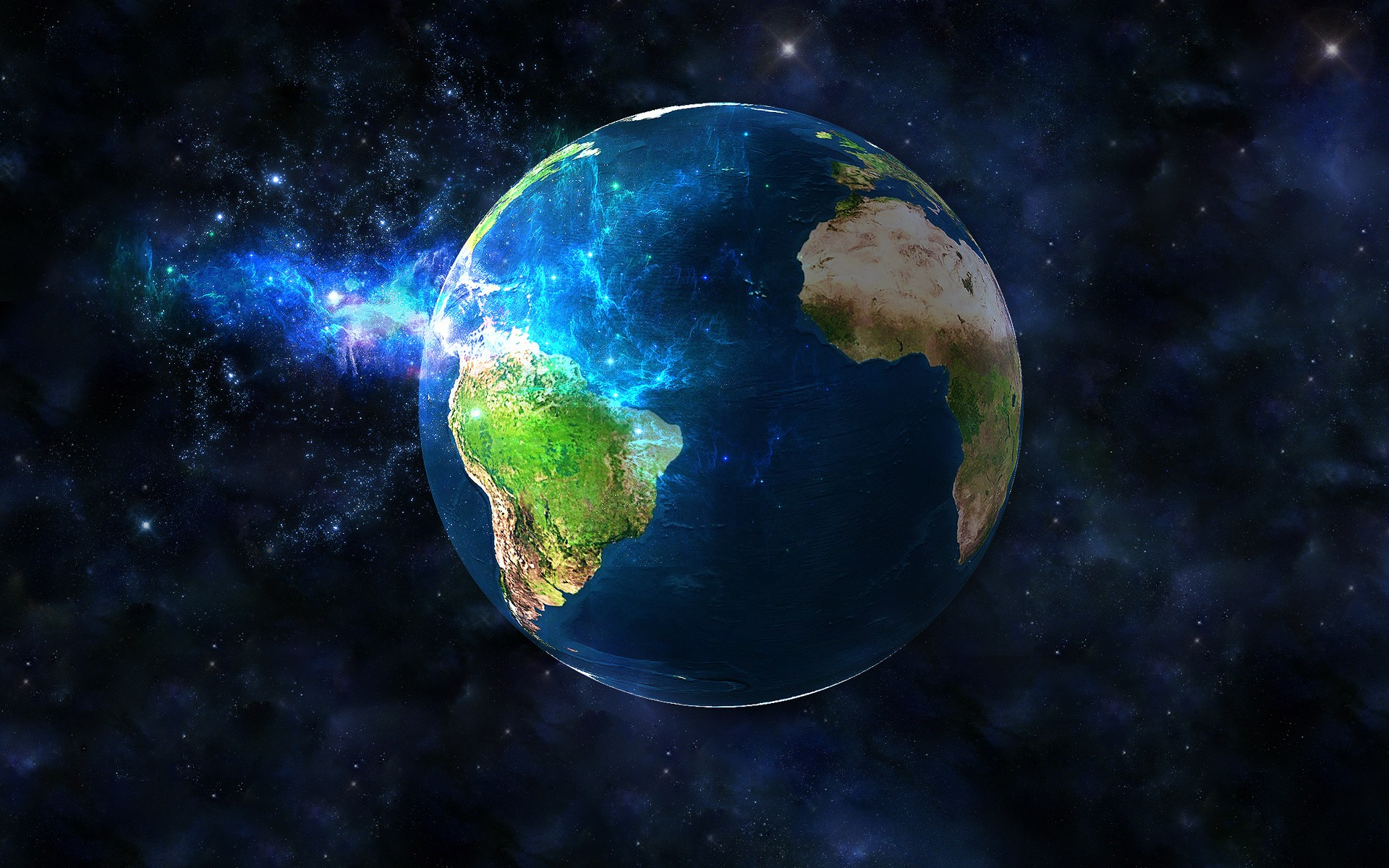Planet Digital Art Space Planets Digital Art