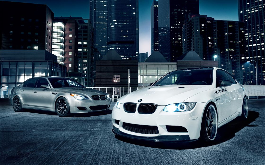 Bmw cityscapes lights cars tuning bmw m3 five bmw e92 cities wallpaper