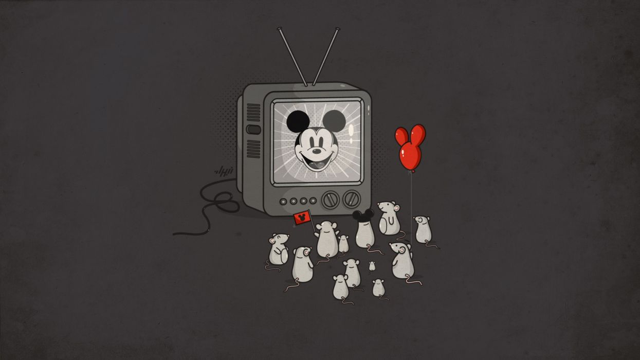 Tv mickey mouse mice wallpaper