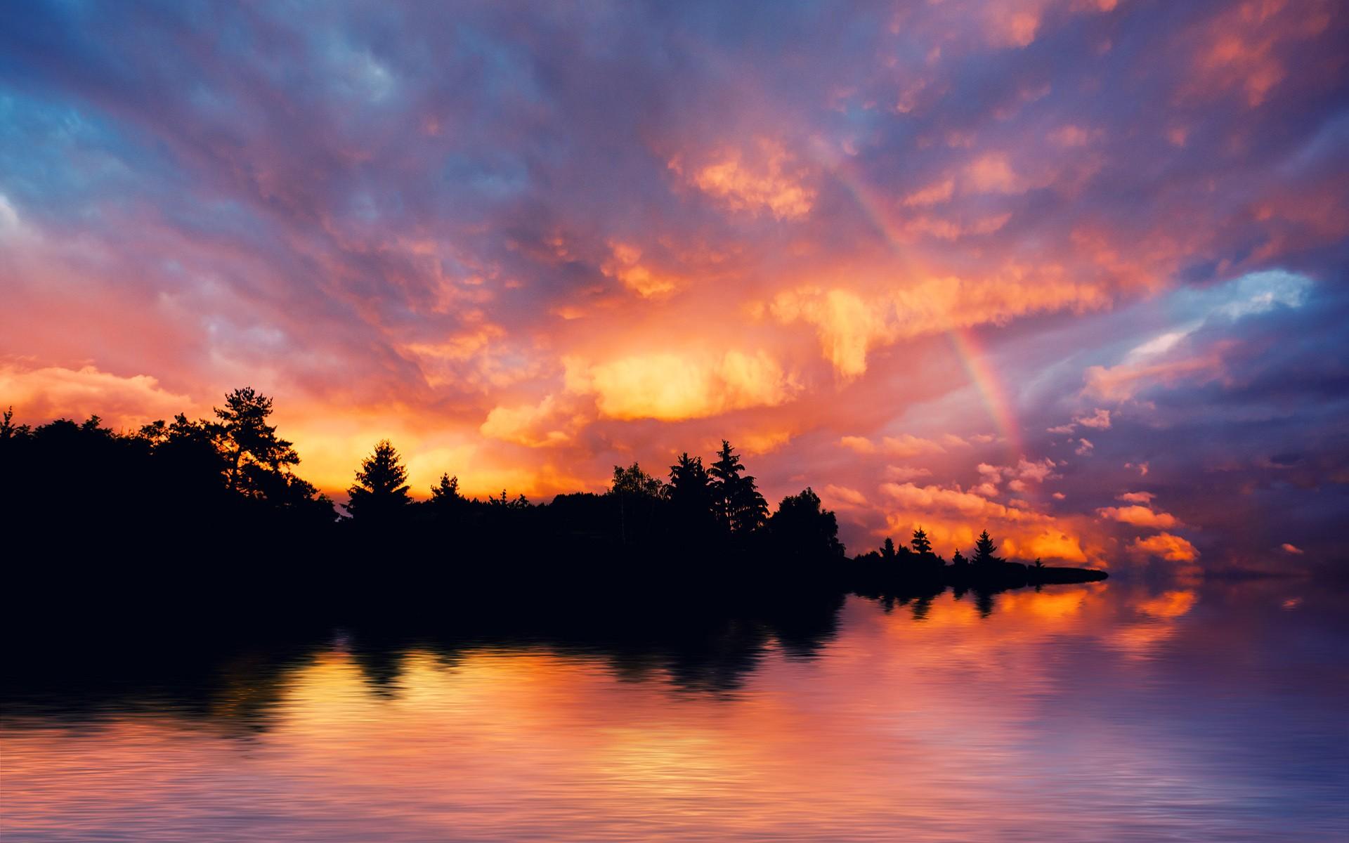 wallpaper sunset