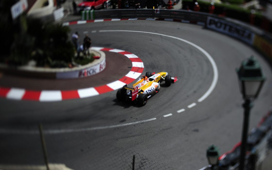 Formula one monaco renault wallpaper