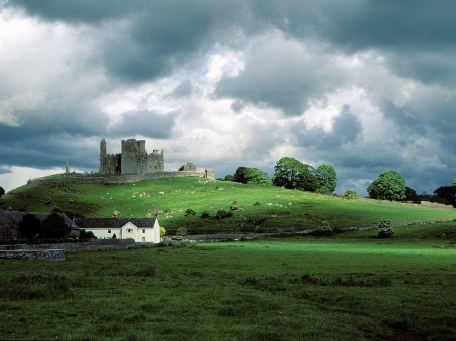 Castles ireland rock of cashel wallpaper
