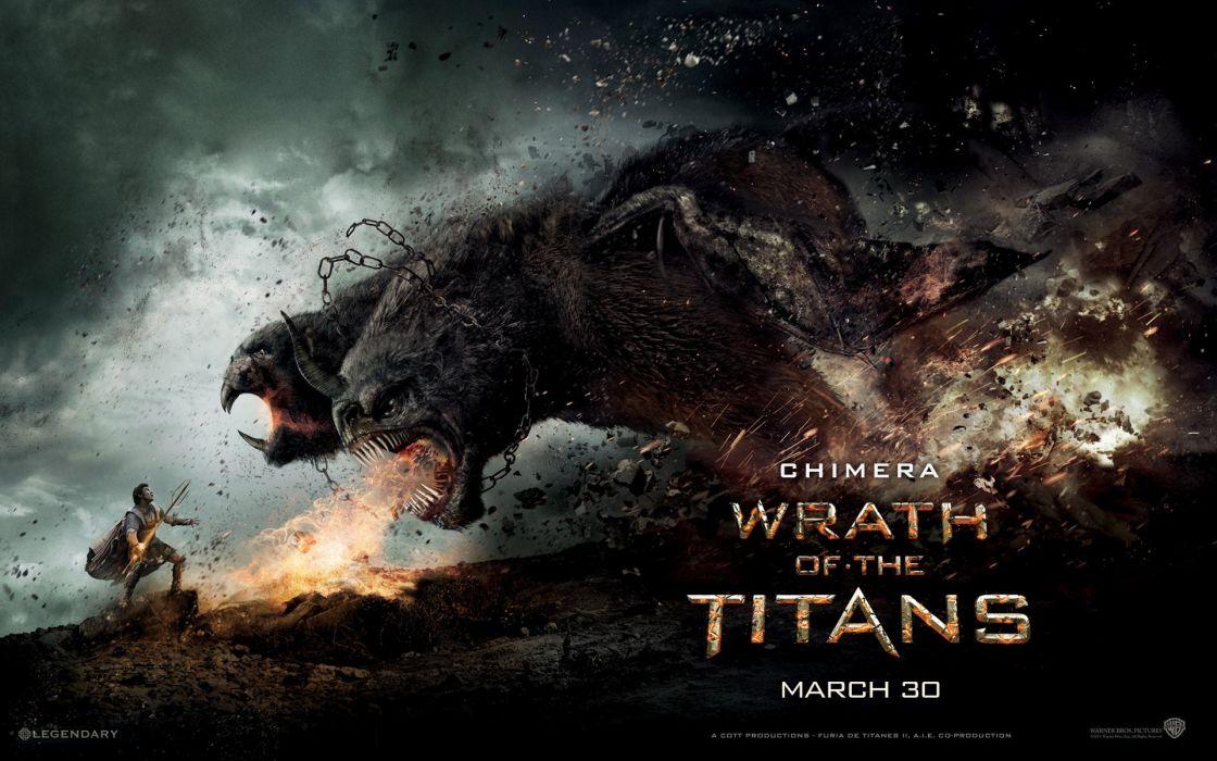 Wrath of the titans wallpaper
