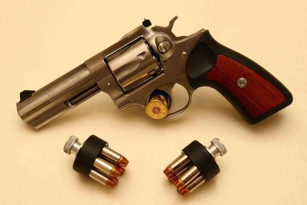 Guns revolvers weapons wallpaper