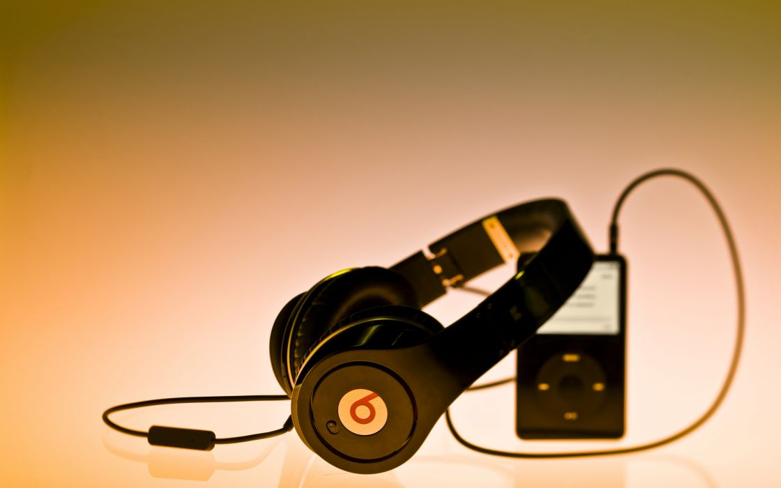 Headphones music wallpaper