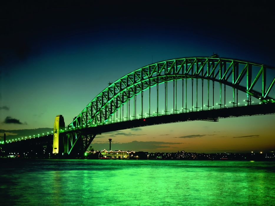 Cityscapes bridges wallpaper