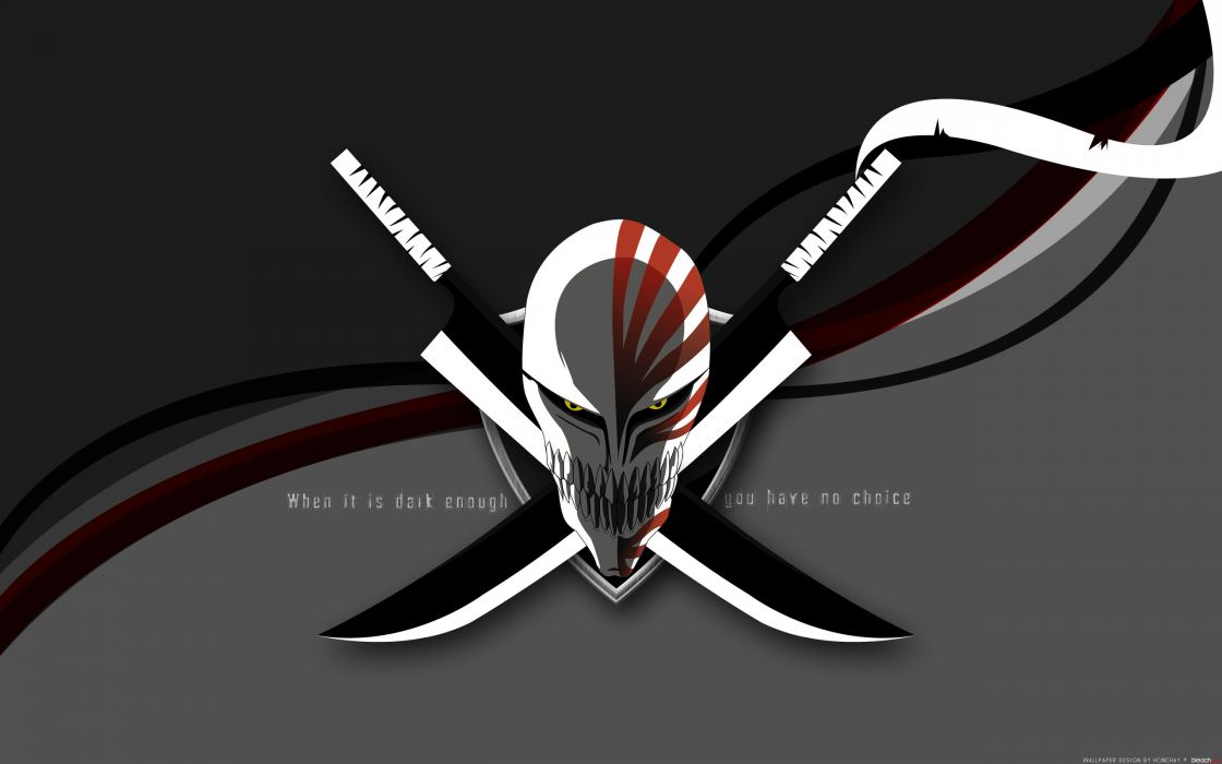 Bleach zanpakuto hollow mask wallpaper