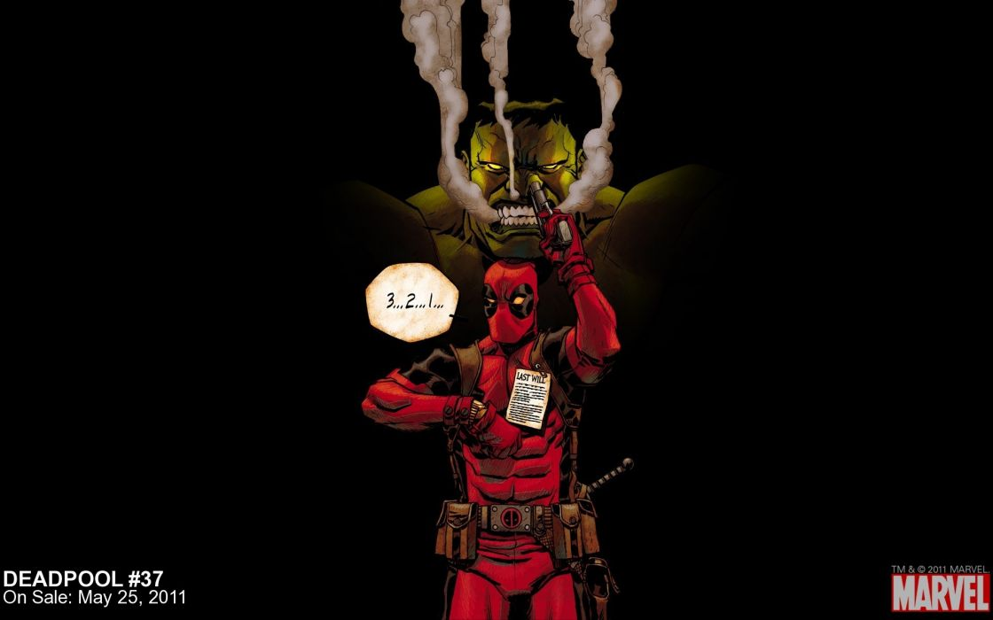 Hulk (comic character) comics deadpool wade wilson marvel comics wallpaper