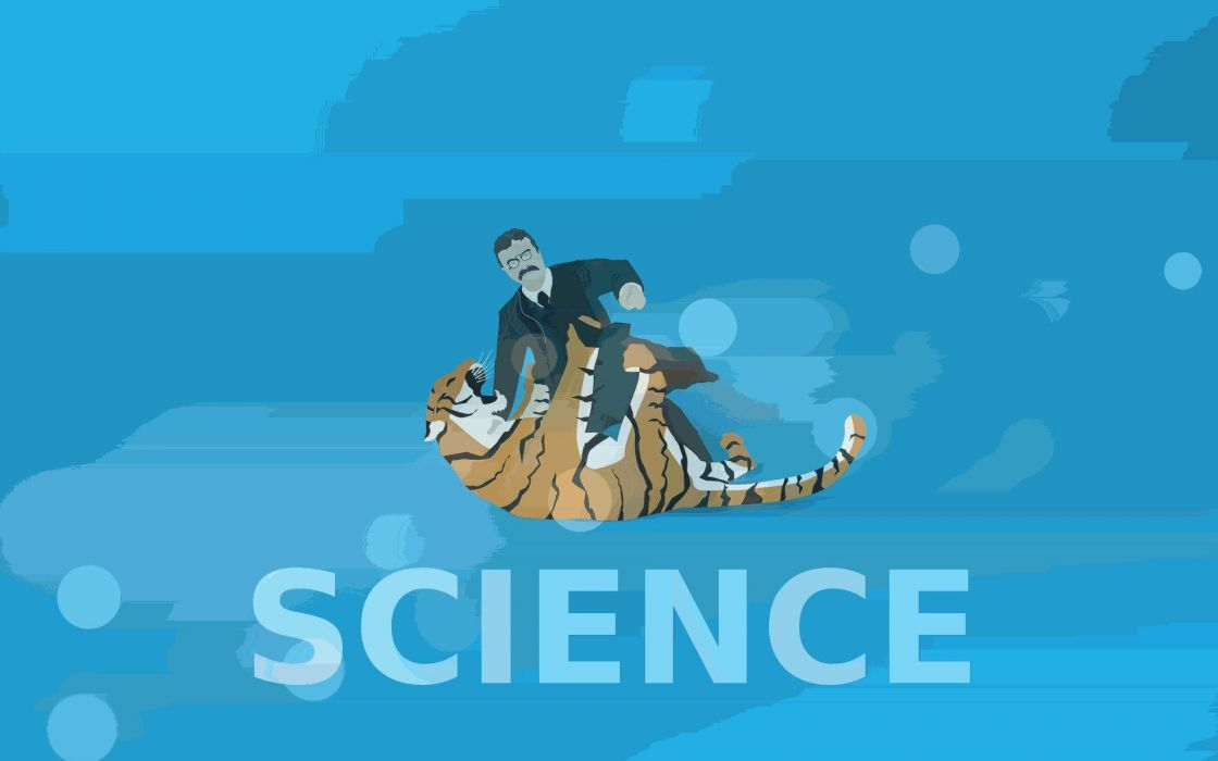 Science tigers badass teddy roosevelt wallpaper