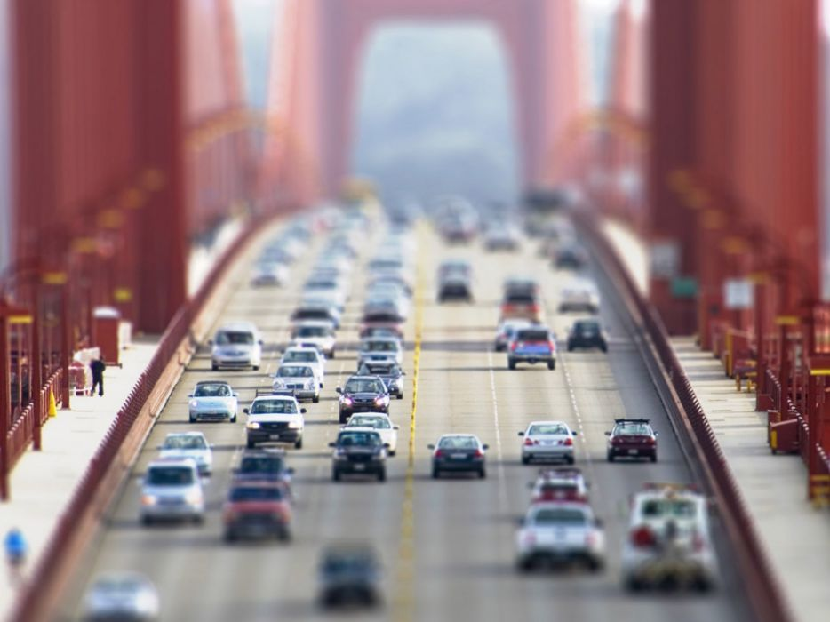 Cars architecture bridges roads photomanipulations wallpaper