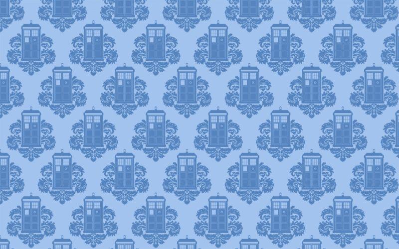 Patterns tardis doctor who wallpaper