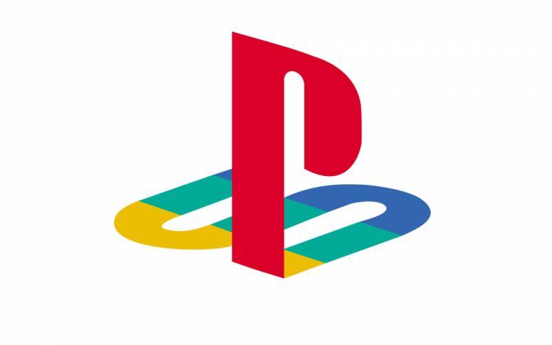 Playstation logos white background wallpaper