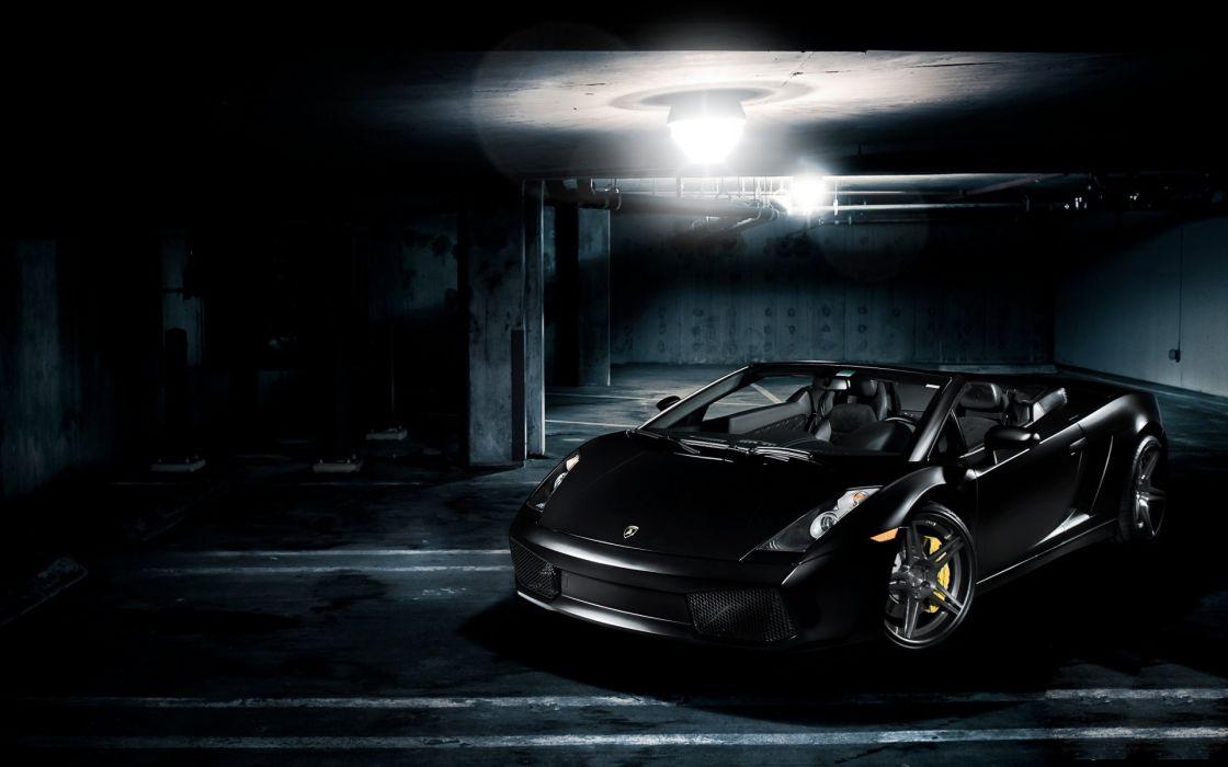 Black cars lamborghini vehicles supercars wallpaper