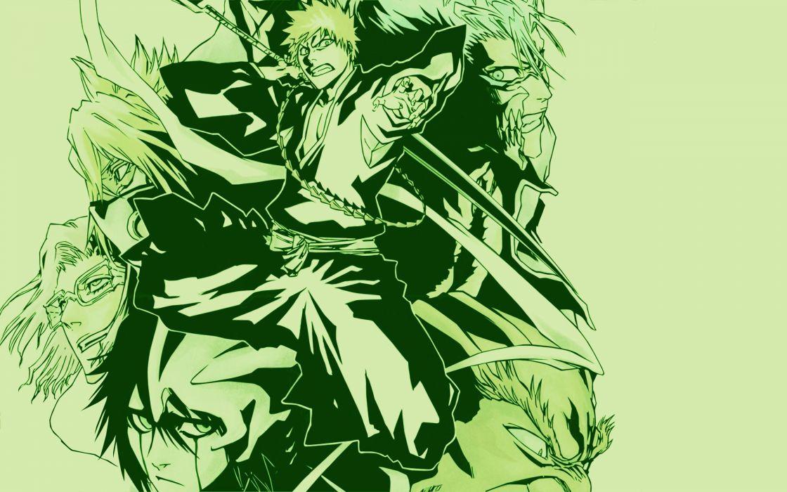 Bleach kurosaki ichigo tia harribel espada grimmjow jaegerjaquez szayel aporro granz yammy ulquiorra cifer wallpaper