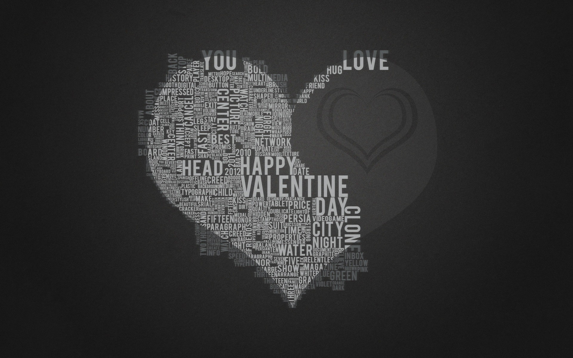 Love Wallpapers With Text : Love black text gray home typography hearts wallpaper 1920x1200 13777 WallpaperUP