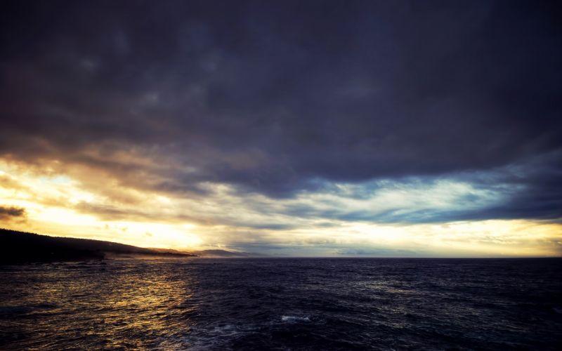 Nature sea skyscapes cloud wallpaper