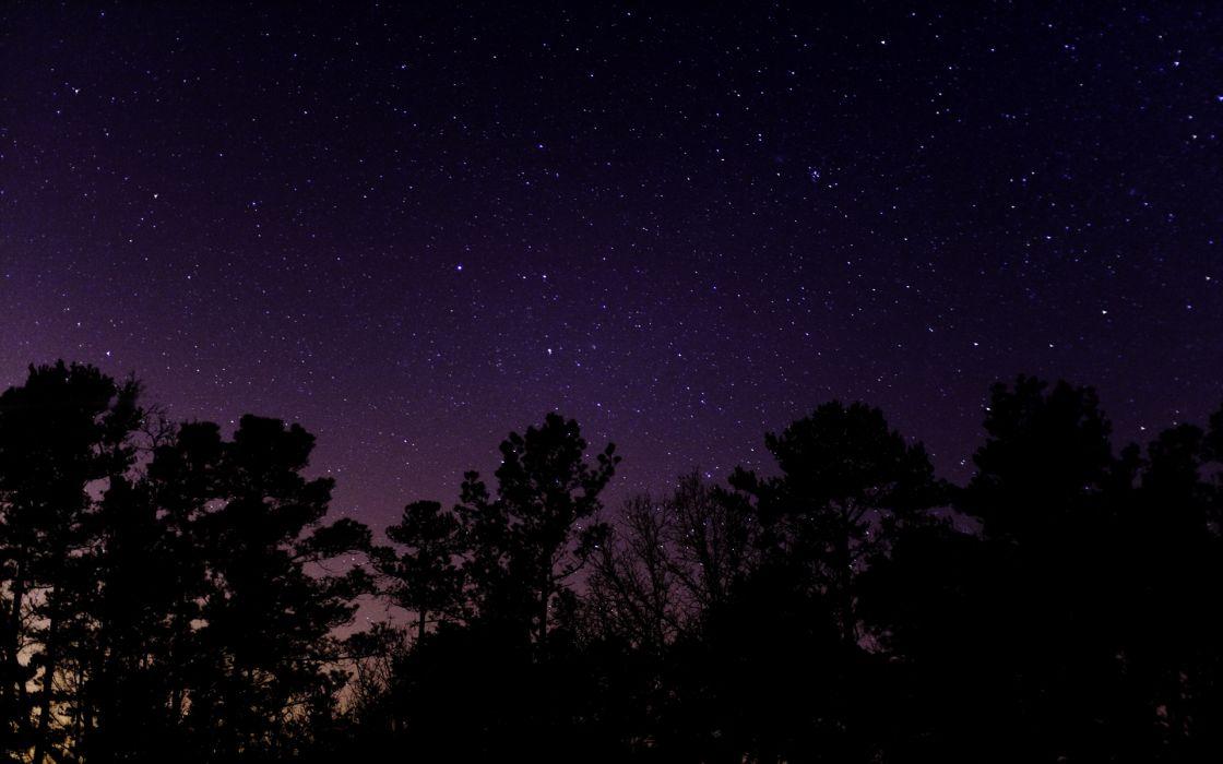 Night stars stargazer skyscapes wallpaper