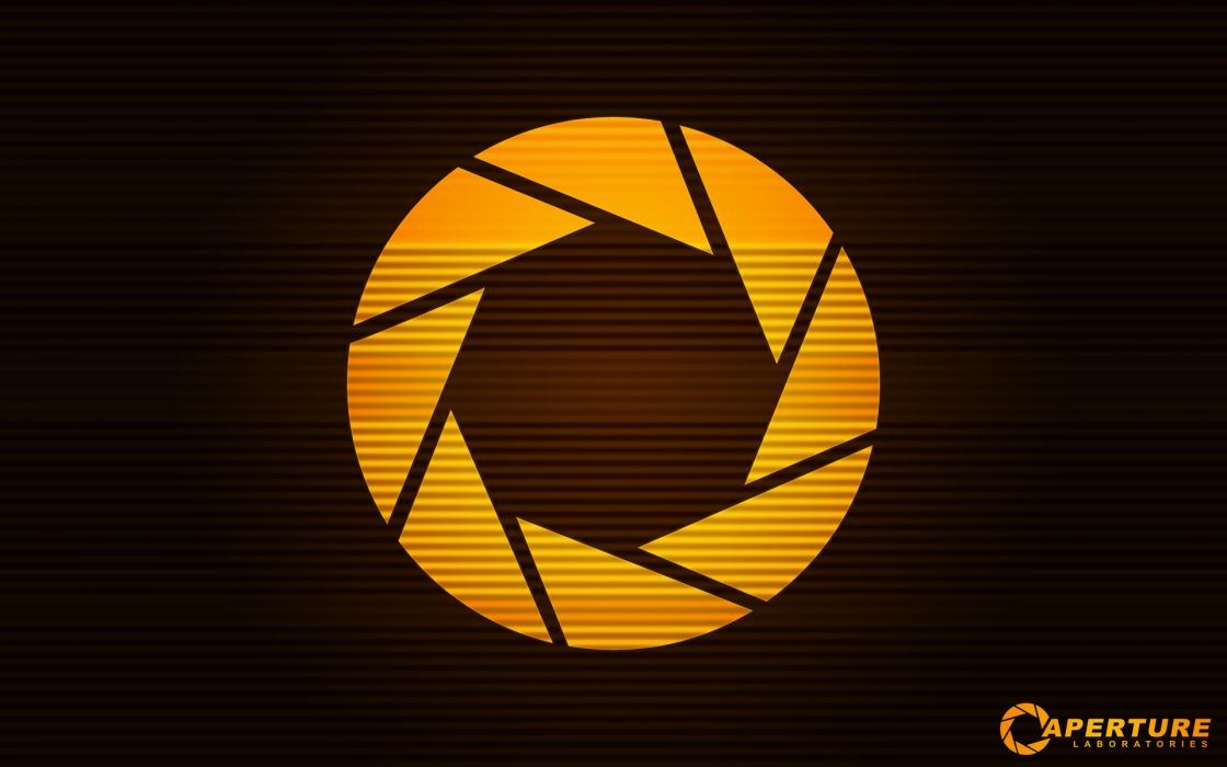 Portal aperture laboratories wallpaper