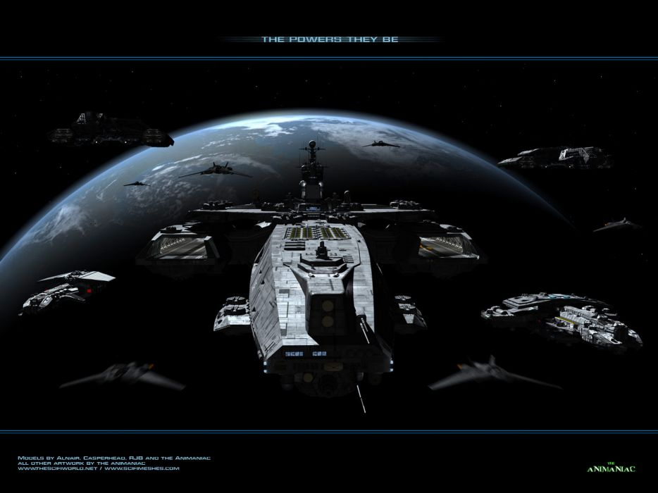Planets stargate spaceships digital art science fiction vehicles wallpaper