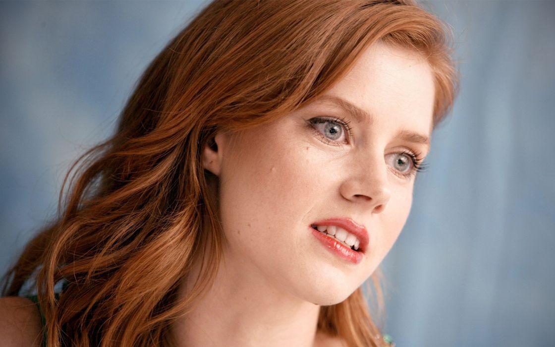 Women actress redheads amy adams wallpaper