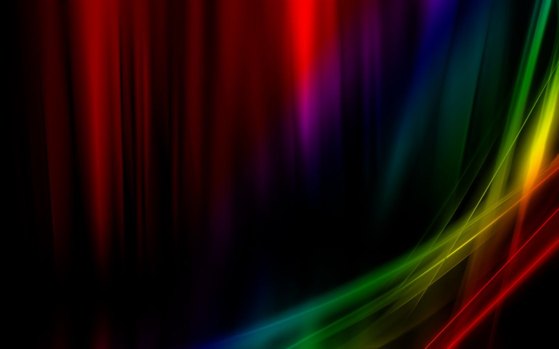 Abstract rainbows colors wallpaper