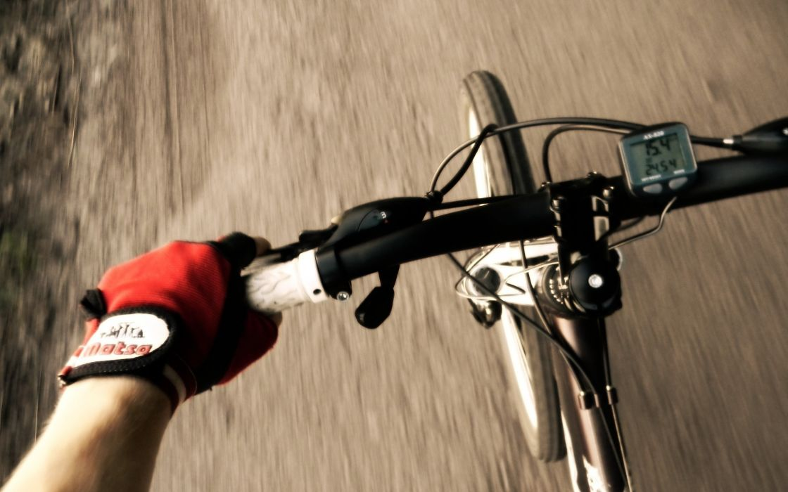 Bicycles mountain bikes wallpaper