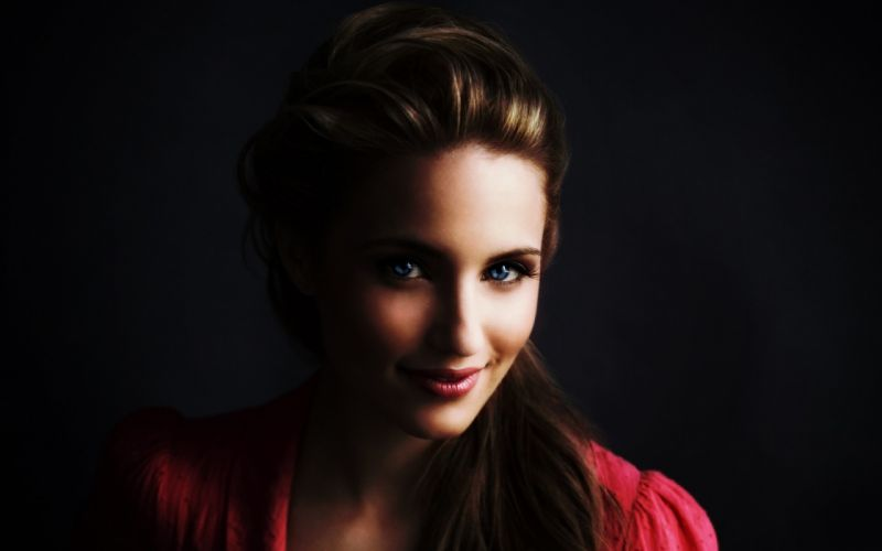 Women blue eyes celebrity dianna agron wallpaper