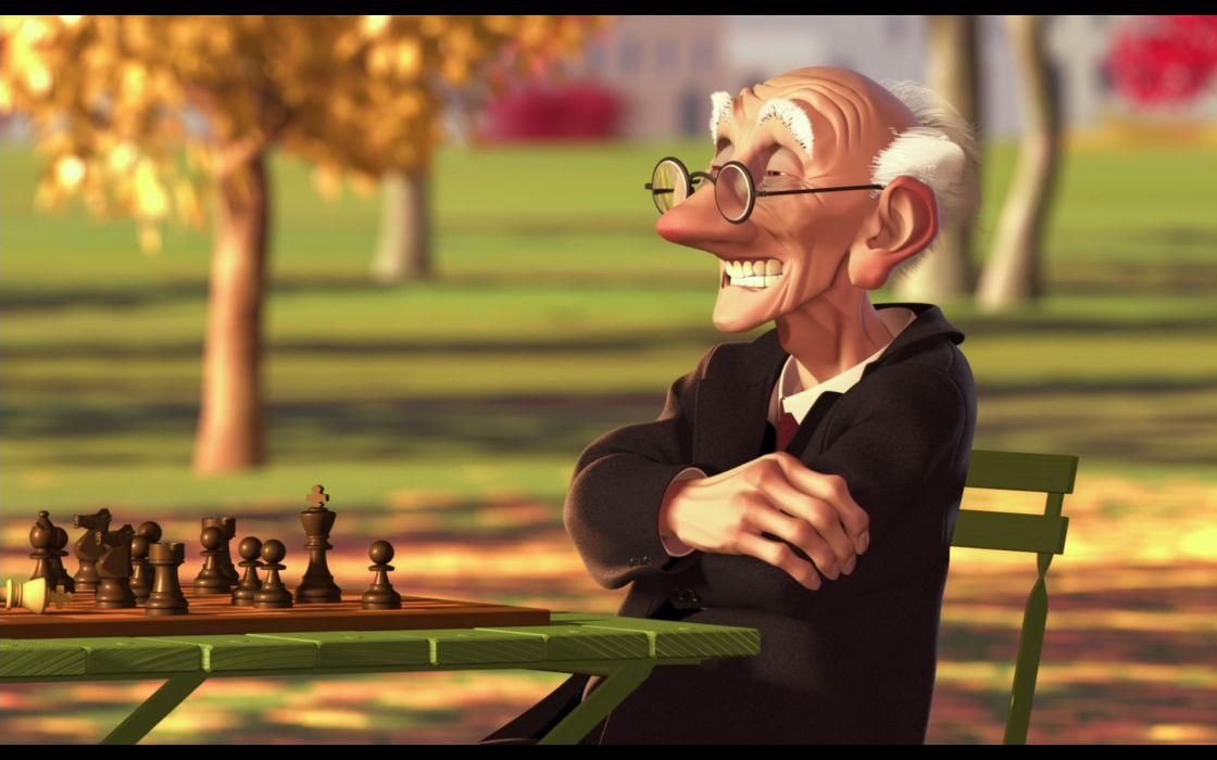 Pixar chess wallpaper