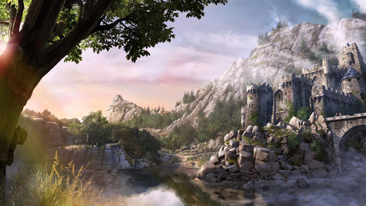 Video games fantasy art artwork arcania gothic 4 arcania wallpaper