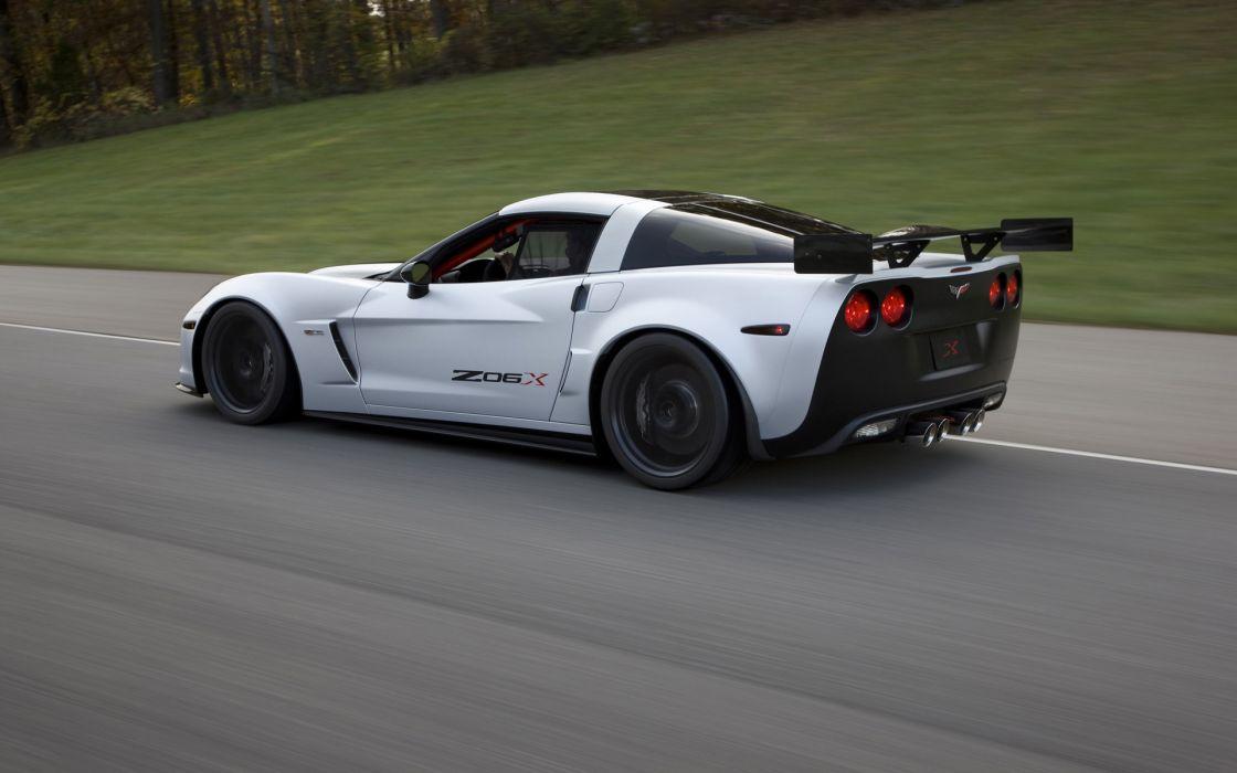 Cars vehicles chevrolet corvette z06x wallpaper