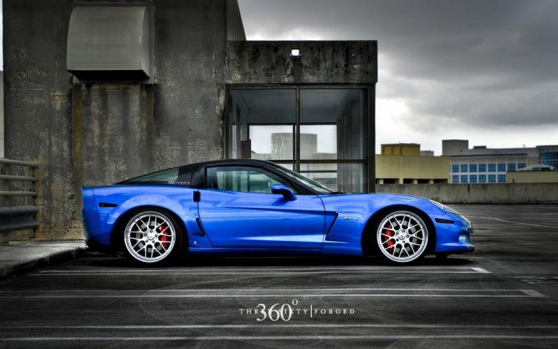 Cars 360 chevrolet corvette z06 wallpaper