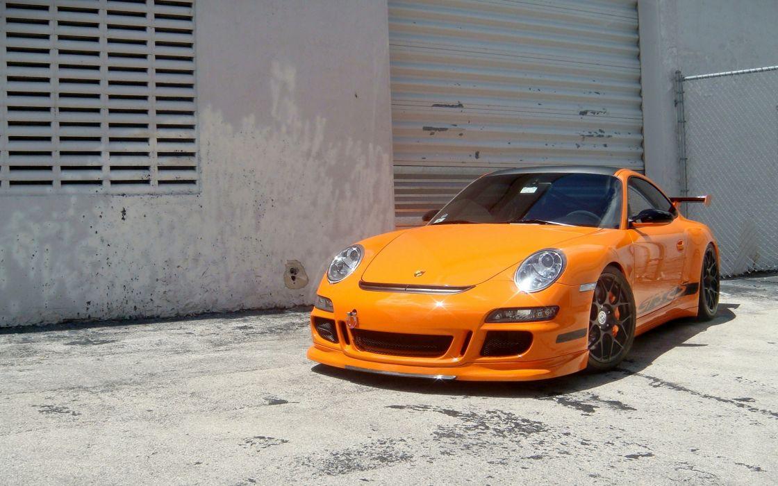 Porsche cars porsche 911 gt3 yellow cars wallpaper