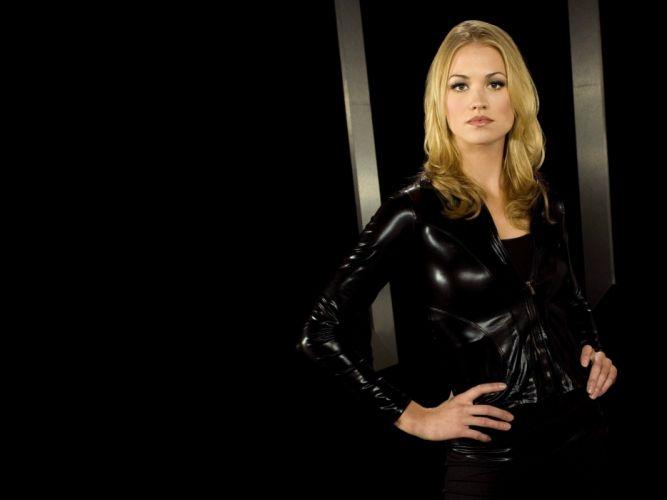 Blondes women models yvonne strahovski wallpaper