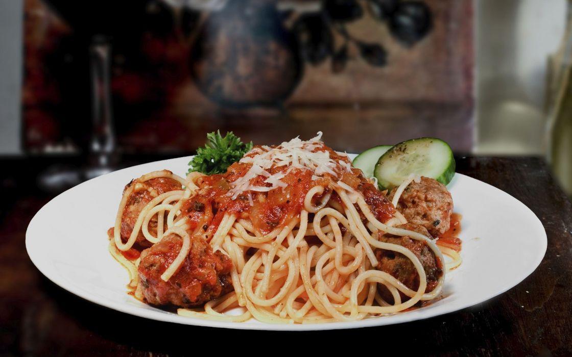 Food spaghetti wallpaper