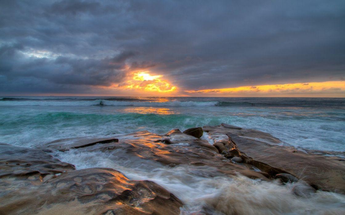 Landscapes nature coast sea seascapes wallpaper