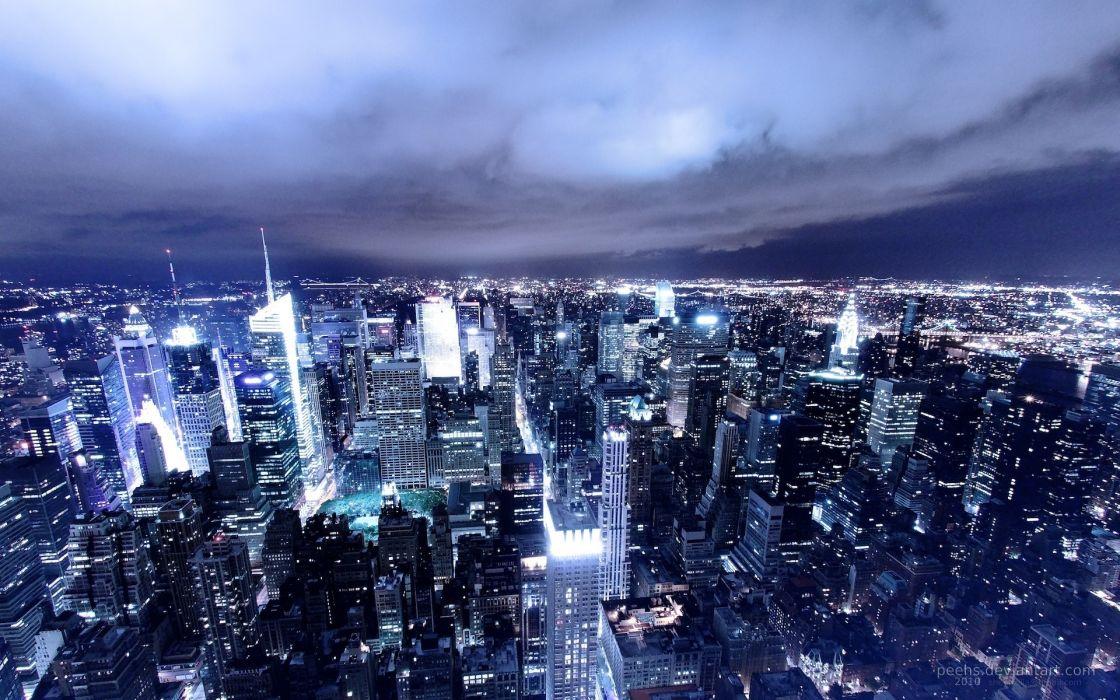 Cityscapes usa new york city wallpaper