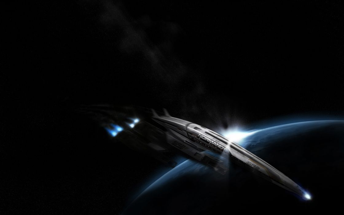 Mass effect spaceships vehicles mass effect normandy sr2 normandy wallpaper